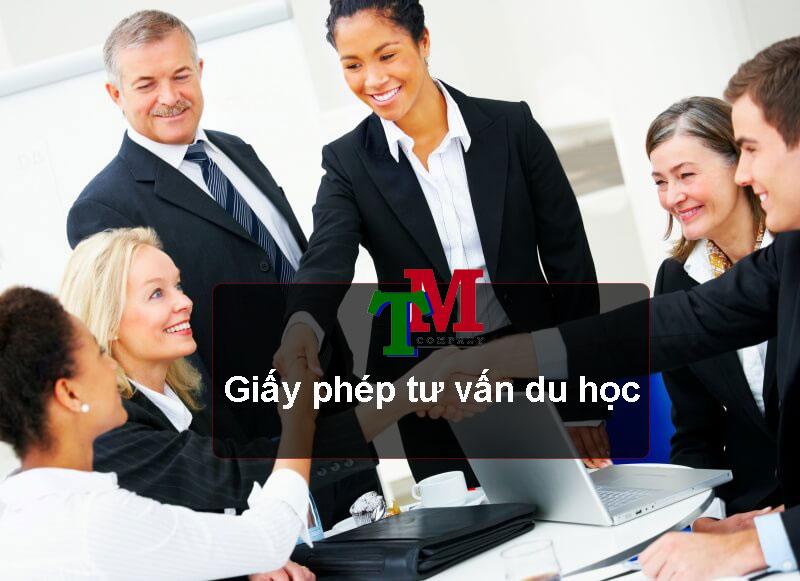 dịch vụ làm giấy phép tư vấn du học